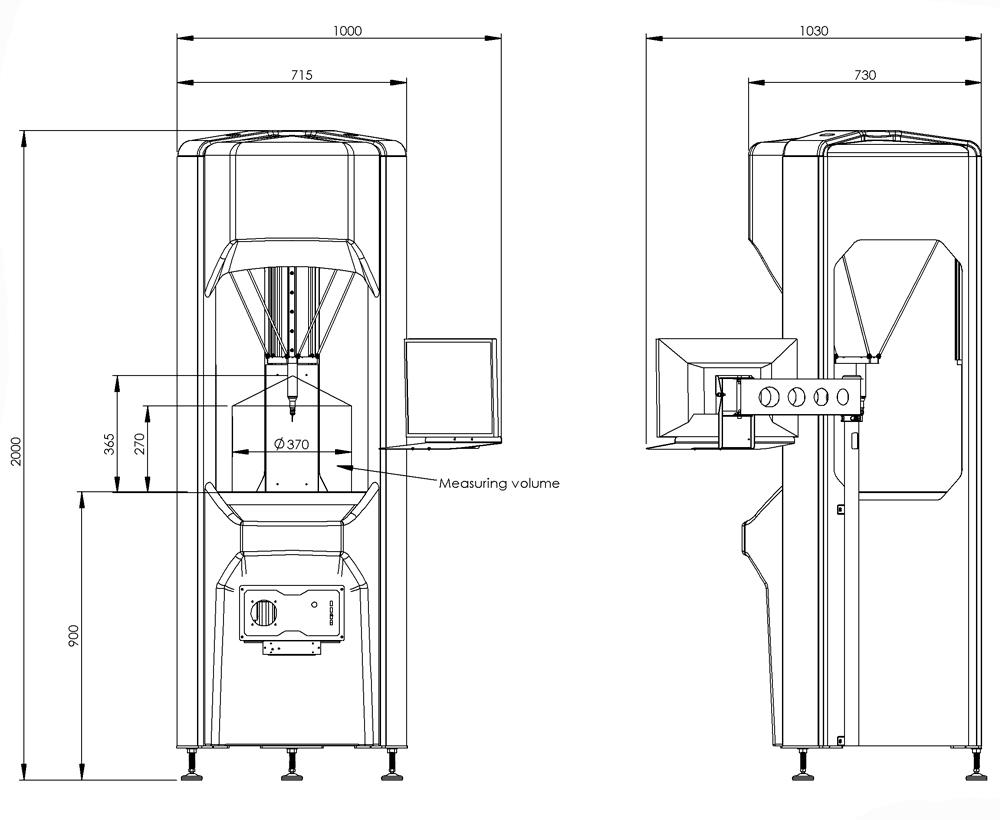 Desen tehnic Extol 370